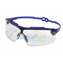 Открытые защитные очки Драйвер прозрачные поворотные удлинённые дужки, линза ПК, не потеющее, антицарапина