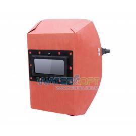 Маска сварщика фибра-картон 1,00 мм красный цвет