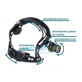 Наголовник для маски сварщика Artotic SUN7B, VITA TIG 3-A