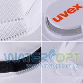 Защитная маска респиратор с клапаном Uvex 3210 FFP2