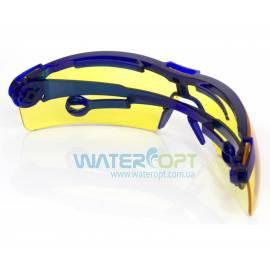 Очки защитные Драйвер жёлтые (поворотные, антицарапина)