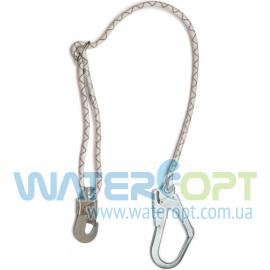 Строп из плетеного шнура с большим карабином 1СШ2