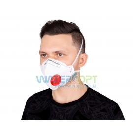Защитная маска респиратор Неон К FFP3 с клапаном