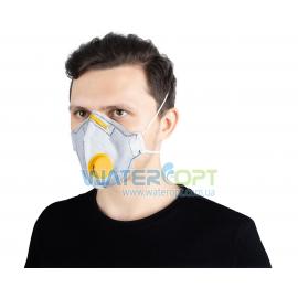Защитная маска респиратор угольный Неон ВК FFP2 N95