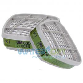 Угольный фильтр для респиратора 3M 6054 аммиак