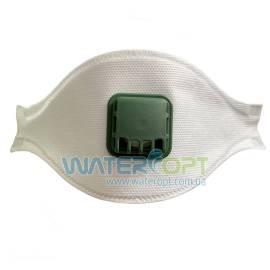 Защитная маска респиратор Неон Aura 1К FFP1 с клапаном