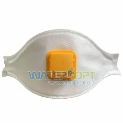 Защитная маска респиратор Неон Aura 2К FFP2 с клапаном