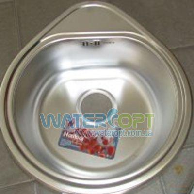 Мойка для кухни Haiba 50*44 Сатин