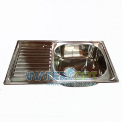 Мойка для кухни Haiba 78*50 Хром