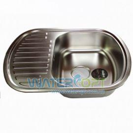 Мойка для кухни Haiba 63*49 Хром