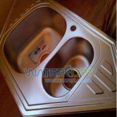 Мойка для кухни угловая Haiba 100*50 Сатин