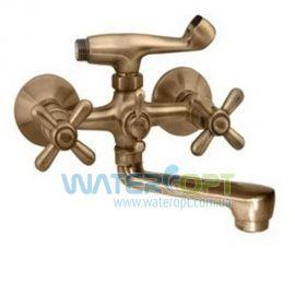 Смеситель для ванны ЕвроПродукт 142 Dominox Bronze