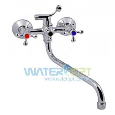 Смеситель для ванны Cron Ecomix 143