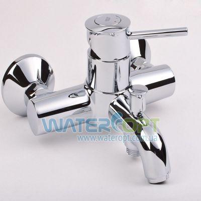Однорычажный смеситель для ванны Grohe BauClassic 32865000