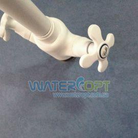 Смеситель для кухни белый Zerix Z41313-7