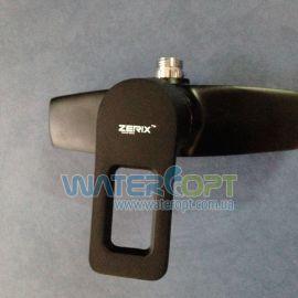 Смеситель для душа черный Zerix Z2030-6