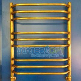 Полотенцесушитель водяной Трапеция Бронза 500*700