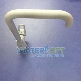Смеситель для кухни белый мрамор Hi-Non h064